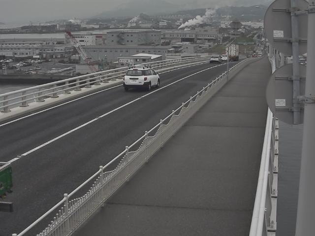 橋梁中央部 廿日市方面 ↗